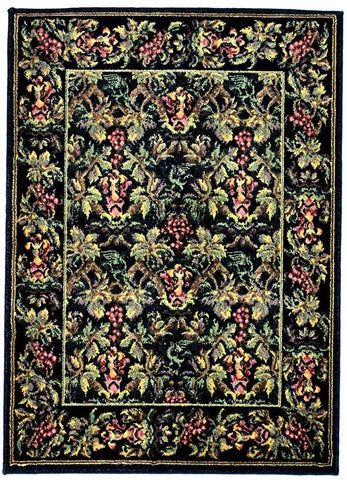 Contessa, 50, Dark Brown (Rectangle) , Area Rugs, Discount Rugs, Cheap Rugs