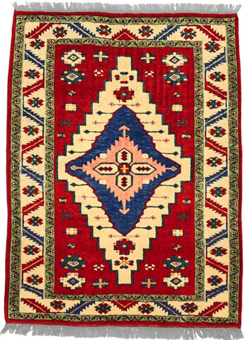 TURKISH - ROMANI, TURKISH, Salmon / Ivory (Rectangle) , Area Rugs, Discount Rugs, Cheap Rugs