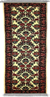 160S - N001, KASHAN, Ivory / Blue (Runner) , Area Rugs, Discount Rugs, Cheap Rugs
