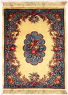 90 L, AUBUSSON, Ivory / Light Blue (Rectangle) , Area Rugs, Discount Rugs, Cheap Rugs