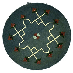 MKT, DHURRIE, No Color (Round) , Area Rugs, Discount Rugs, Cheap Rugs, Round Rugs