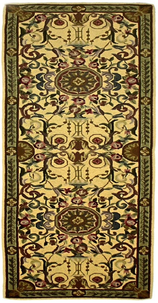 Bijoux, MH55, Yellow (Runner) , Area Rugs, Discount Rugs, Cheap Rugs