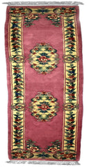 90 L, AUBUSSON, Rose / Ivory (Runner) , Area Rugs, Discount Rugs, Cheap Rugs