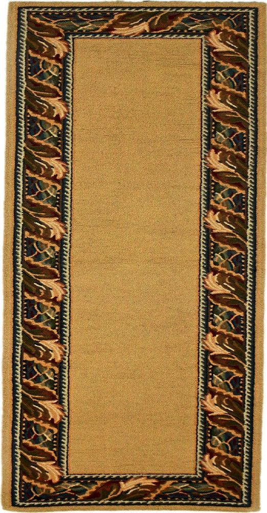 Country Heritage, H528, Gold (Runner) , Area Rugs, Discount Rugs, Cheap Rugs