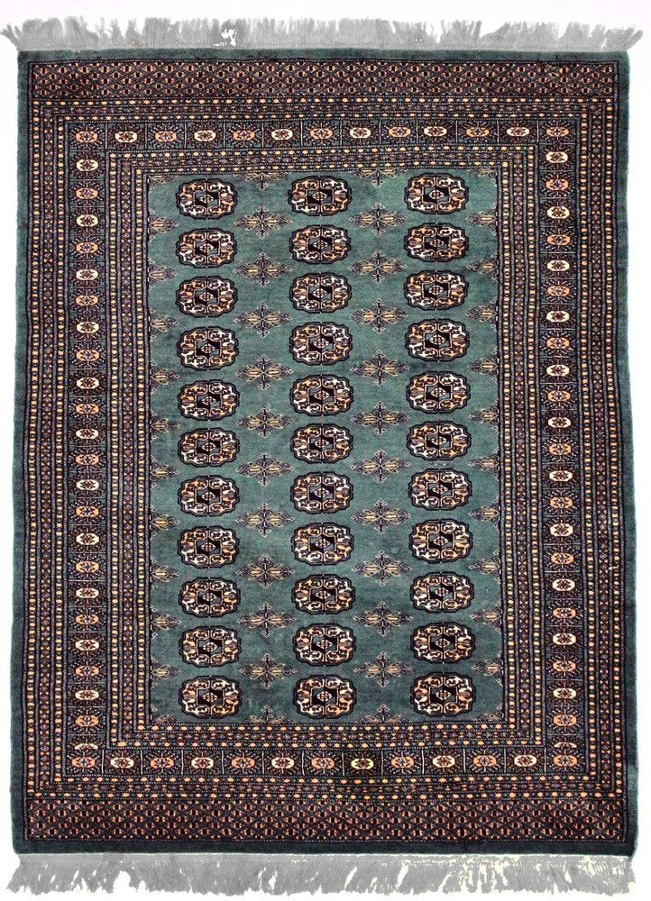 P, BOKHARA, Green / Black (Rectangle) , Area Rugs, Discount Rugs, Cheap Rugs