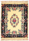 90 L, AUBUSSON, Ivory / Black (Rectangle) , Area Rugs, Discount Rugs, Cheap Rugs