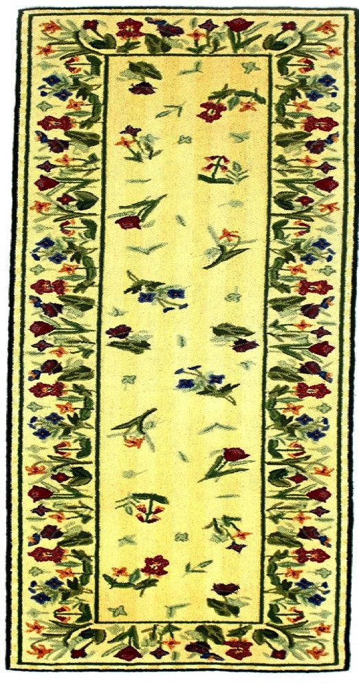 Country Heritage, H611, Ivory (Runner) , Area Rugs, Discount Rugs, Cheap Rugs