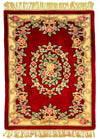FC, AUBUSSON, Red / Ivory (Rectangle) , Area Rugs, Discount Rugs, Cheap Rugs