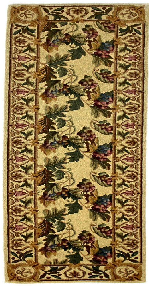 Country Heritage, H582, Beige (Runner) , Area Rugs, Discount Rugs, Cheap Rugs