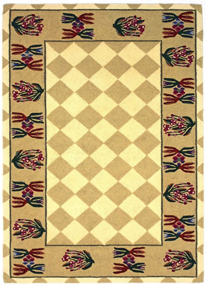 Country Heritage, H649, Ivory / Gold (Rectangle) , Area Rugs, Discount Rugs, Cheap Rugs
