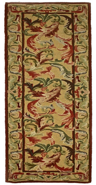Country Heritage, H499, Gold (Runner) , Area Rugs, Discount Rugs, Cheap Rugs