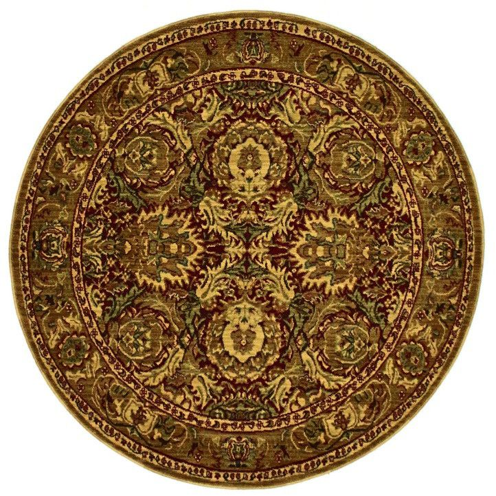 Smithsonian, CP05, Red (Round) , Area Rugs, Discount Rugs, Cheap Rugs, Round Rugs