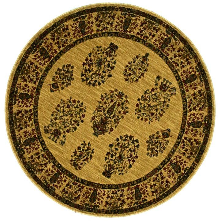 Smithsonian, CP04, Beige (Round) , Area Rugs, Discount Rugs, Cheap Rugs, Round Rugs