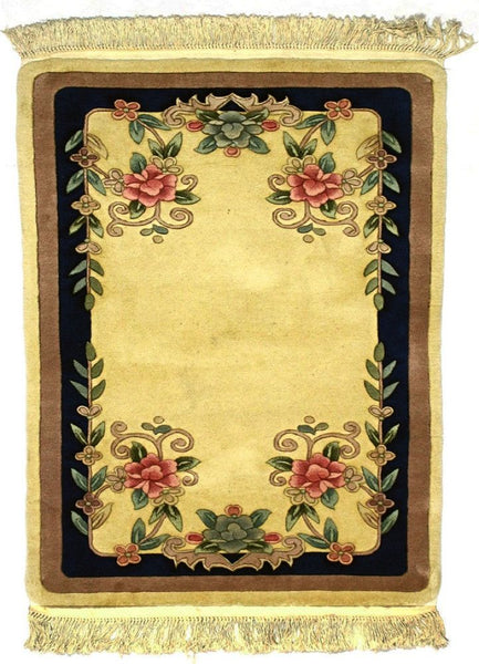 90 L, ARTDECO, Red / Navy (Rectangle) , Area Rugs, Discount Rugs, Cheap Rugs