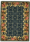 Country Heritage, H561, Blue (Rectangle) , Area Rugs, Discount Rugs, Cheap Rugs