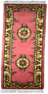 90 L, AUBUSSON, Pink / Ivory (Runner) , Area Rugs, Discount Rugs, Cheap Rugs