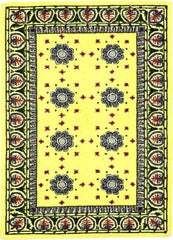 Country Heritage, H660, Yellow (Rectangle) , Area Rugs, Discount Rugs, Cheap Rugs