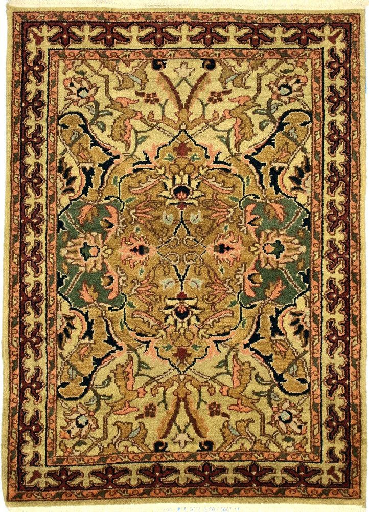 INDO, POLANAISE, Gold / Gold (Rectangle) , Area Rugs, Discount Rugs, Cheap Rugs
