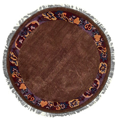 Tibetan - P001, HIMALAYA, No Color (Round) , Area Rugs, Discount Rugs, Cheap Rugs, Round Rugs