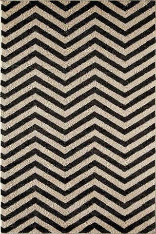 Hudson Black Chevron 8494A