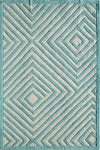 Gramercy Light Blue Maze 3230B