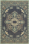 Vintage Tapis Left Bank Indigo by Patina Vie