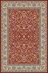 Ancient Garden 57078-1414 Red/Ivory