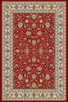 Ancient Garden 57120-1464 Red/Ivory