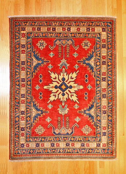 Kazak Tribal TAN80024521 Pakistan, rugs, one of a kind