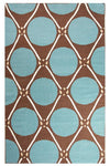 En Casa by Luli Sanchez Flat-Weave Grid dot LSF01
