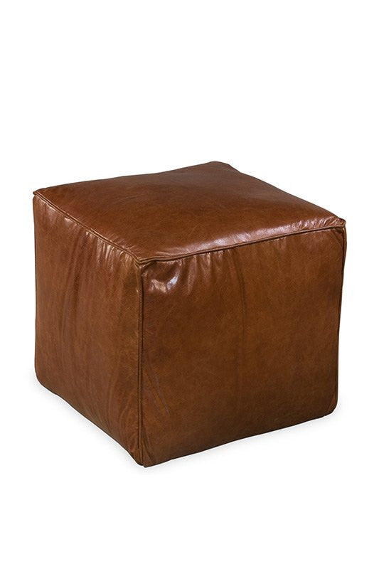 Elrond Leather Sitting Cube