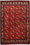 "Khyber, Red Wool Area Rug - 8' 5"" x 9' 7"""