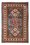 "Shirvan, Red Wool Area Rug - 4' 2"" x 6' 4"""