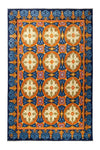 "Suzani, Multi Wool Area Rug - 7'10"" X 10'4"""