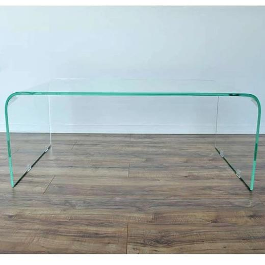 Pura Coffee Table Clear Glass