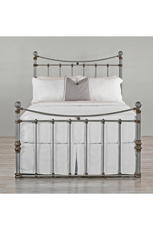 quati iron bed frame