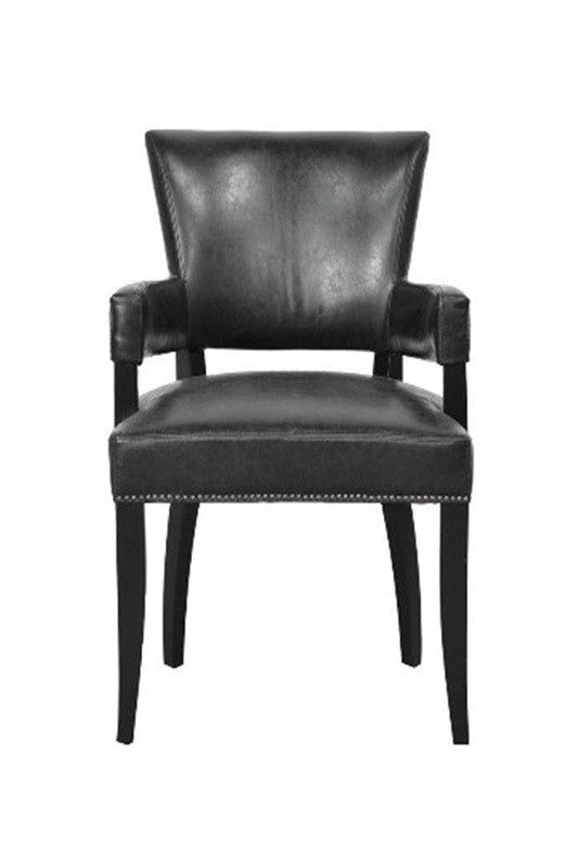 Ronan Leather Arm Chair Nw Rugs Amp Furniture