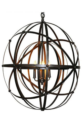 Alchemy Chandelier Metal