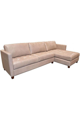 Danilo Leather Sectional