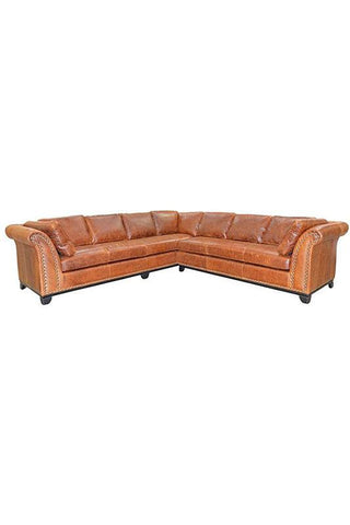 Kingsley Leather Sectional