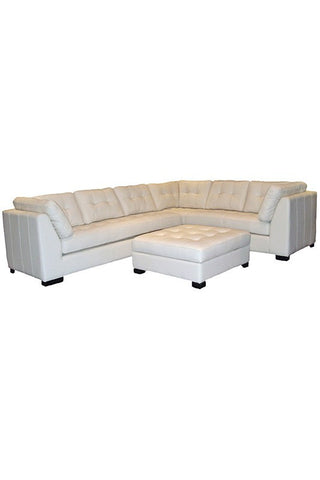 Newport Leather Sectional