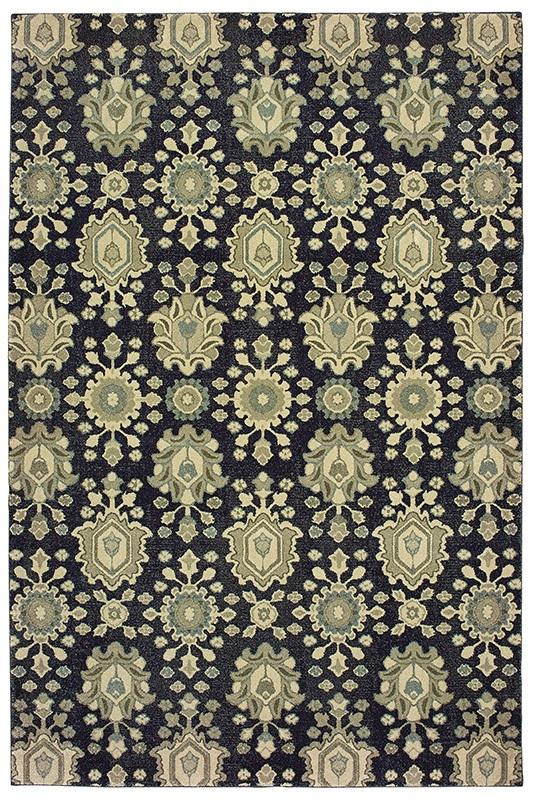 Rug Raleigh 533q5 Navy Ivory Nw Rugs Amp Furniture