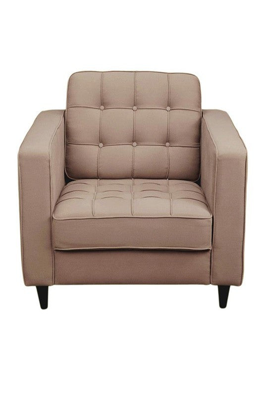 Romano Club Chair Light Grey