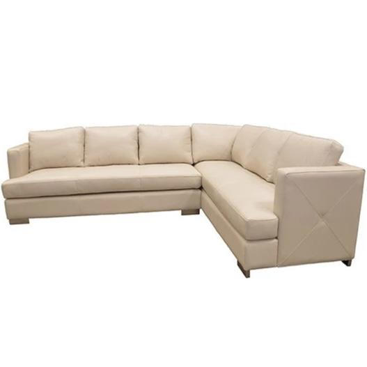 Wesley Leather Sectional