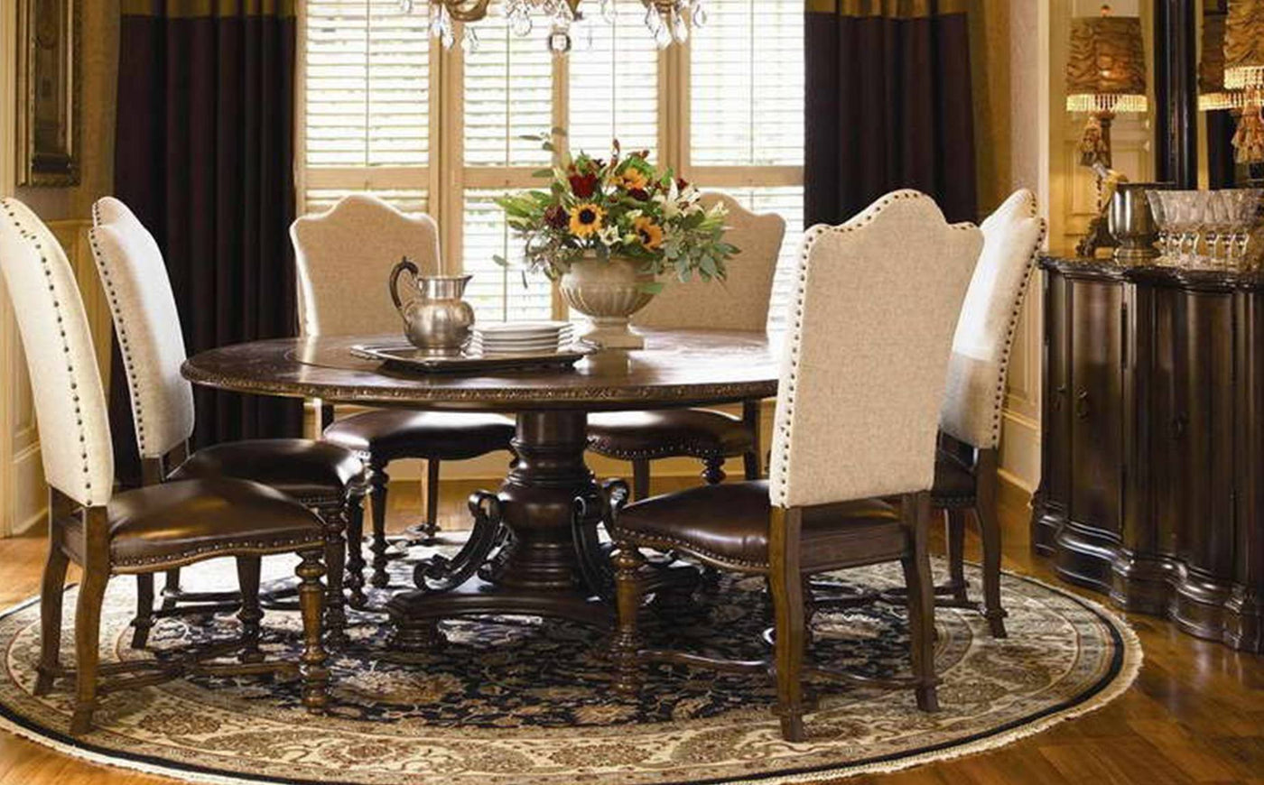 Round Table Round Rug.Rug Sizes Rug Size Guide Nw Rugs Furniture