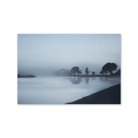 Framed Misty River