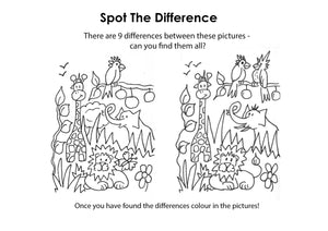 Jungle Spot the difference