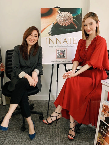 Ingrid Leung and Janis Chan at INNATE Jewelry