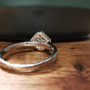 Square LOVE Ring