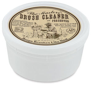 The Masters Brush Cleaner and Preserver - Classroom Tub, 24 oz